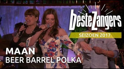 Maan-beer-barrel-polka-beste-zangers